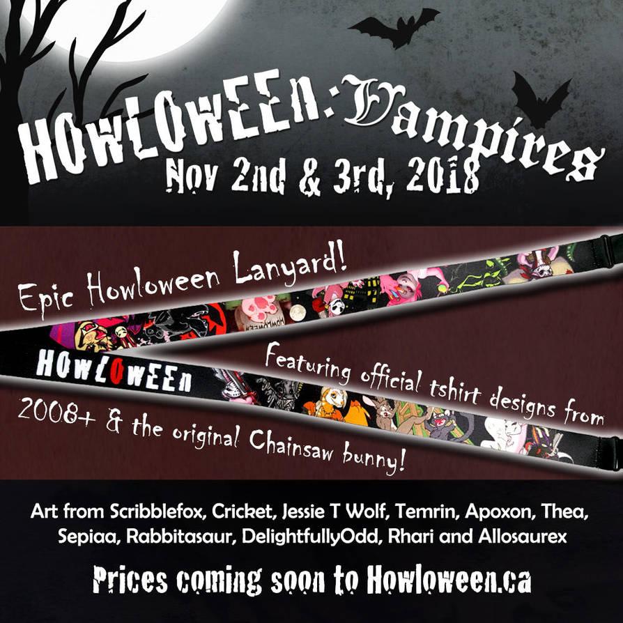 Howl 2018 Lanyards by HowloweenCanada