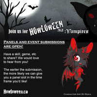 Panel Submissions Close TOMORROW by HowloweenCanada