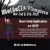 Dance Comp Applications OPEN by HowloweenCanada