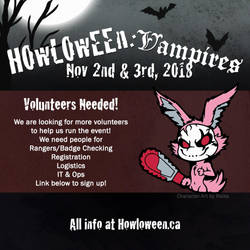HELP NEEDED! Looking for volunteers! by HowloweenCanada