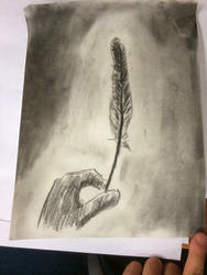 Black feather by dude77777777777