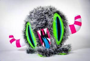 Wicked Monster plush by junkyard-king