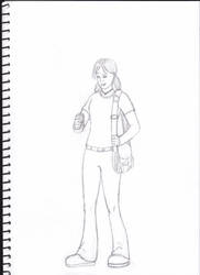 Veronica Mars Sketch by frogoat