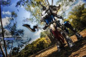 [cosplay] Hecarim by riskbreaker