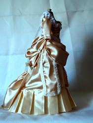 bustle dress by titanicc1912