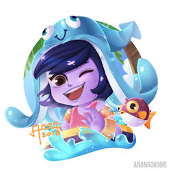 Pool party lulu by CatUp1742