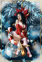 Christmas Pin Up 2010 by Claudia-SG
