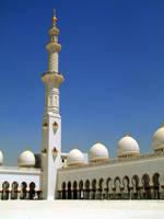Shaykh Zayd Mosque - Minaret by Teakster