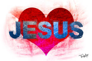 Love Jesus by Teakster