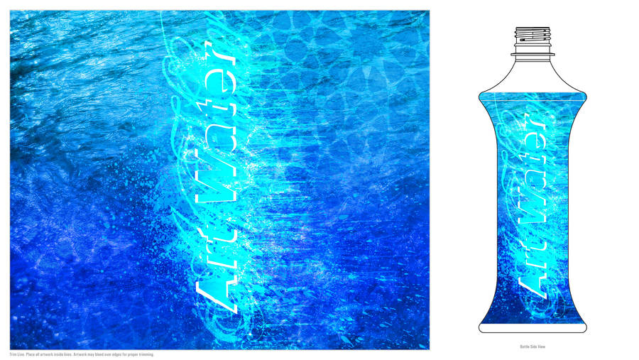 Art Water Label Contest by Teakster