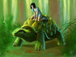 Turtle by SulaMoon