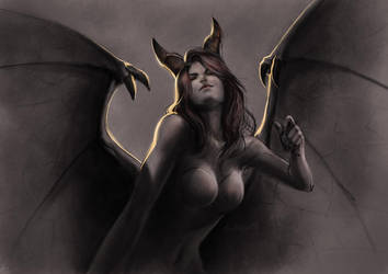 Succubus 2011 by SulaMoon
