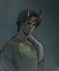 Loki in Agent of Asgard by SulaMoon