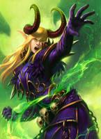 Warlock: Cataclysm by SulaMoon