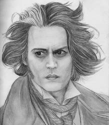 Sweeney Todd - Johnny Depp by accantis