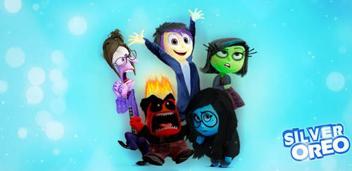 My Inside Out characters ~ by SilverMusicalOreo