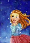 Let it snow by SabDANI
