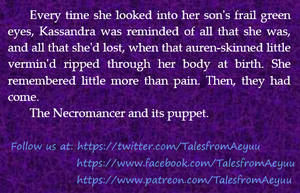 Snippet - Kassandra's loss by Nocturnaliss