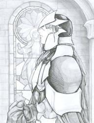 returning knight by kiddemon
