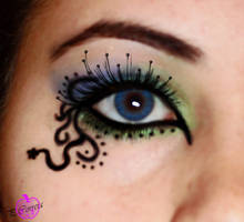 Fairy Eye - Make up by elegant-lolitaxx