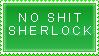 Sherlock Holmes stamp by PyroKey