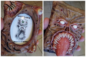 Necronomicon Ex Mortis picture frame by MorgansMutations