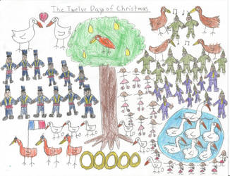 The 12 Days of Christmas by tj450