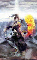 korra - master of the elements by Jun-OH