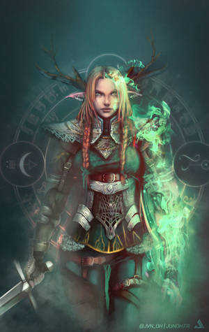 Wizard Warior  by Jun-OH