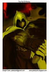 Fist of Khonsu V2 by clarkwerkborne