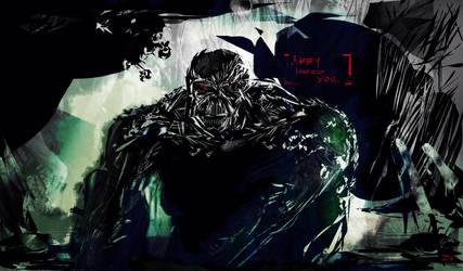 Swamp Thing Fan art by clarkwerkborne