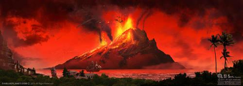 mount Vesuvius by ZOOLAX