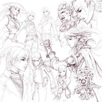 Sketch Compilation 8 by minties
