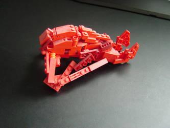 Lego Banshee by linearradiation