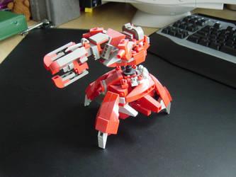 Lego Shade Gun by linearradiation