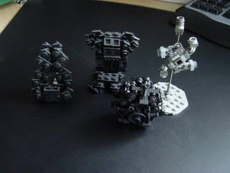 Legos Misc. Customs by linearradiation