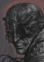 Cyborg head by Matejko77