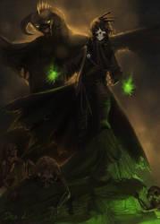 Necromancer by Dezilon