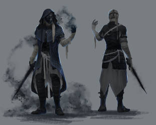Iron Assassin by Dezilon