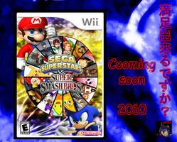 Sega Superstars vs Super Smash Bros. by darkshortyx