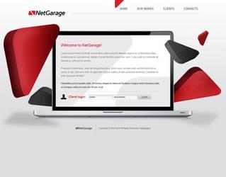 Netgarage web development by luqa
