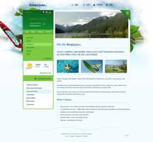 Kemp Lipno website by luqa