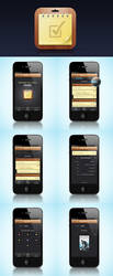TaskMaster iphone application by luqa