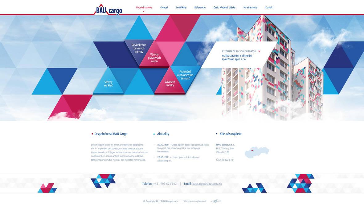 BauCargo website by luqa