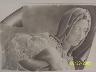 Pieta by valeriafernand