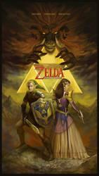 The Legend of Zelda by agentscarlet