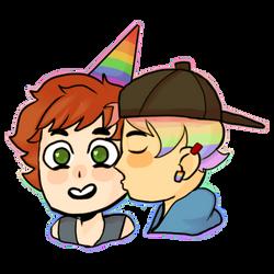 Birthday Pride by SketchbookStudios
