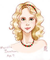 Myrcella Baratheon - Portrait by anowyn