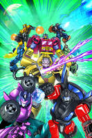 TF Timelines Issue 5 Diam ed. by FunPubComics