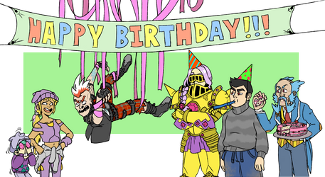 Happy Actual Birthday Dana circa2017 by The-PaperNES-Guy